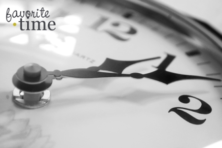 favourite-time